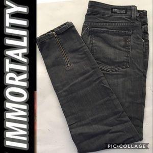 IMMORTALITY DARK BLACK JEANS
